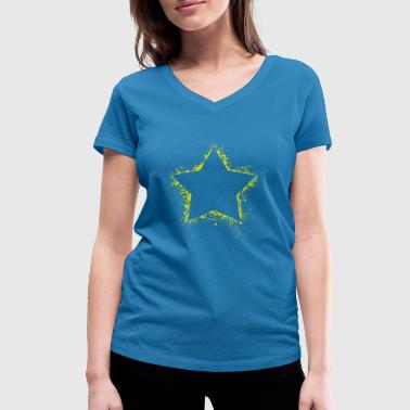 star - Women's Organic V-Neck T-Shirt by Stanley & Stella