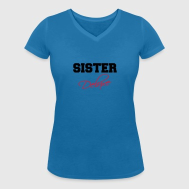 Sister Deluxe - Women's Organic V-Neck T-Shirt by Stanley & Stella