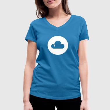 The Cloud - Women's Organic V-Neck T-Shirt by Stanley & Stella