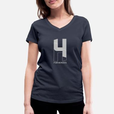 Without Background For Heroes without background 1 - Women's Organic V-Neck T-Shirt by Stanley & Stella
