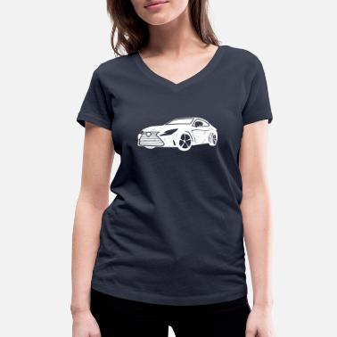 Driving Instructor driving instructor - Women's Organic V-Neck T-Shirt