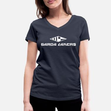 Garda Lakers logo - Women's Organic V-Neck T-Shirt