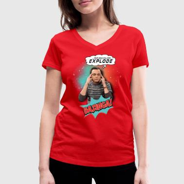 The Big Bang Theory   - T-shirt bio col V Stanley & Stella Femme