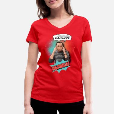 Cooper The Big Bang Theory  Explode - T-shirt bio col V Stanley & Stella Femme