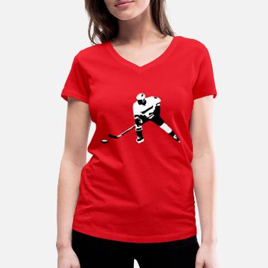Ice Hockey Ice hockey - T-shirt bio col V Stanley & Stella Femme