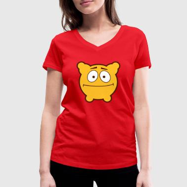 Gloomy Is Confused! - Women's Organic V-Neck T-Shirt by Stanley & Stella
