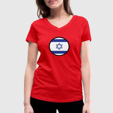 Gaza Strip Under The Sign Of Israel - Women's Organic V-Neck T-Shirt by Stanley & Stella