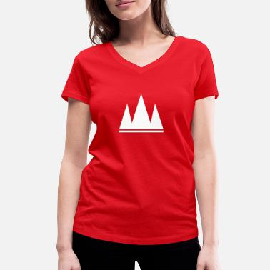 If The Crown Fits Crown!! - Women's Organic V-Neck T-Shirt by Stanley & Stella