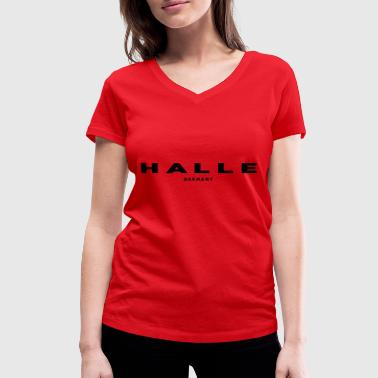 Hall - Women's Organic V-Neck T-Shirt by Stanley & Stella