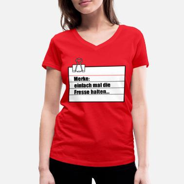 Note Clue note - Women's Organic V-Neck T-Shirt