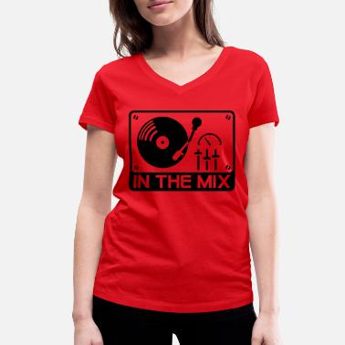 Remix in_the_mix_f1 - Women's Organic V-Neck T-Shirt