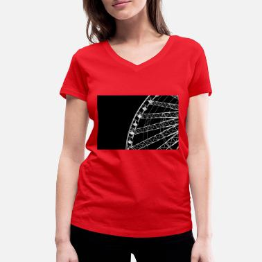 Ferris Wheel Ferris wheel - Women's Organic V-Neck T-Shirt