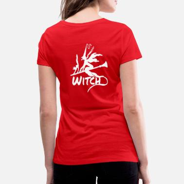 Witch Witch Witch - Women's Organic V-Neck T-Shirt