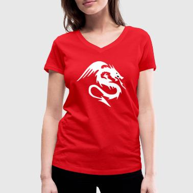 Dragon AR - Women's Organic V-Neck T-Shirt by Stanley & Stella