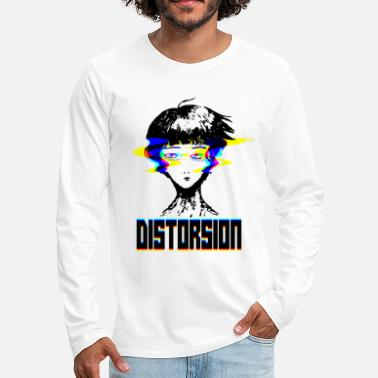 Trippy Distortion - Men's Premium Longsleeve Shirt