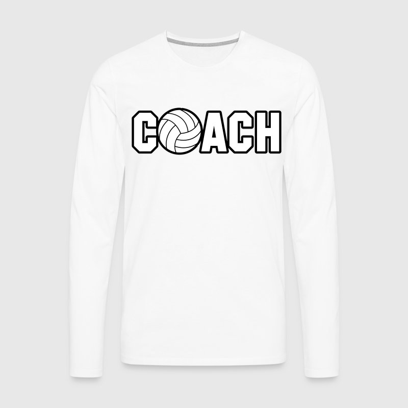 Volleyball Coach - T-shirt manches longues Premium Homme