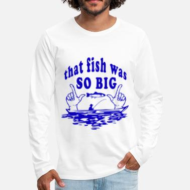 Sailboat Fishing fish fishing - Men's Premium Longsleeve Shirt