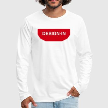 design in - T-shirt manches longues Premium Homme