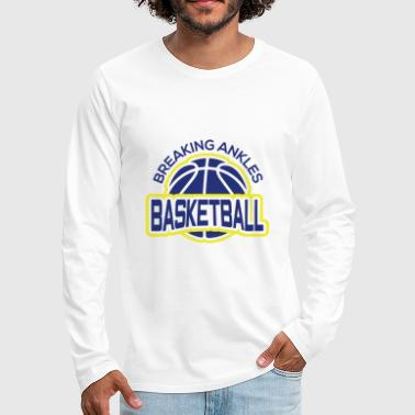 Basketbal Team Basketbal Sport Team Team Tuner Training - Mannen Premium shirt met lange mouwen