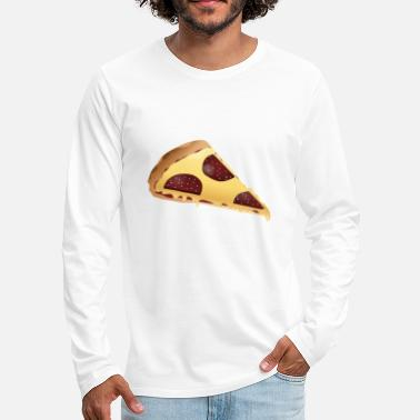 Piece Piece of pizza - Men's Premium Longsleeve Shirt
