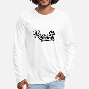 Rescue Rescue mom - Men's Premium Longsleeve Shirt