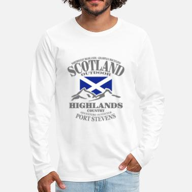 Scotland Scotland - Highlands - Men's Premium Longsleeve Shirt