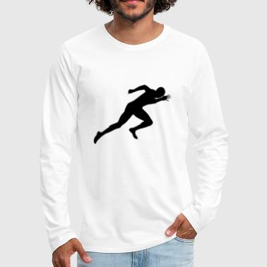 Sprinting Sprint Athletics - Men's Premium Longsleeve Shirt
