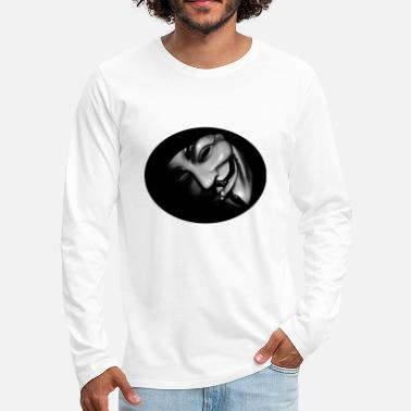 Anonymous Anonymous - Men's Premium Longsleeve Shirt