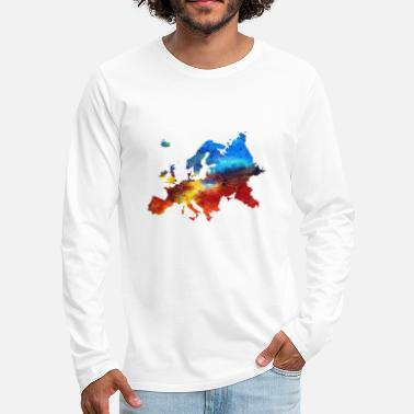 Europe Europe - T-shirt manches longues Premium Homme