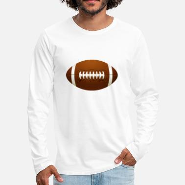American American Football - T-shirt manches longues Premium Homme