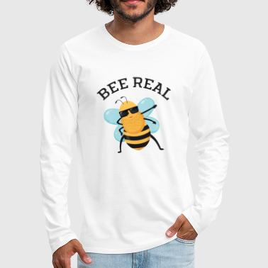 Bee Real - Dabbing Bee Dab Dance - T-shirt manches longues Premium Homme