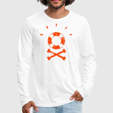 Rescue Pirate Rescue - Men's Premium Longsleeve Shirt