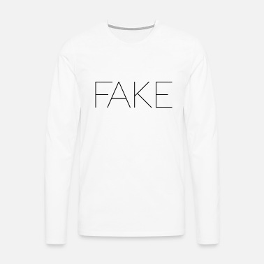 Fake FAKE - Men's Premium Longsleeve Shirt