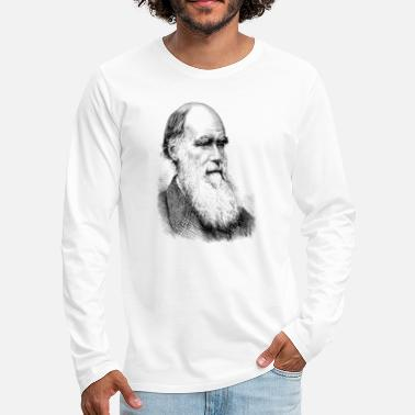 Darwin Charles Darwin - T-shirt manches longues Premium Homme