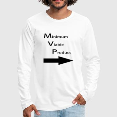 Minimum Minimum for Viable Product for a buddy - Men's Premium Longsleeve Shirt
