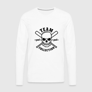 Team Collection Skull - Männer Premium Langarmshirt