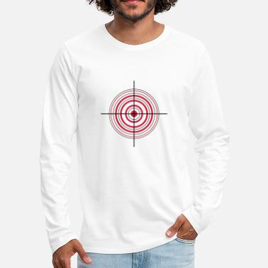 Crosshair Crosshair and target - Men's Premium Longsleeve Shirt