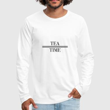 Electro Tea time - Men's Premium Longsleeve Shirt