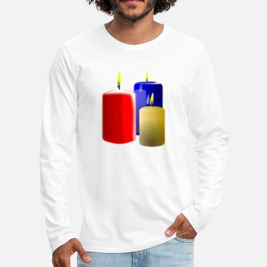 Bouger bougies - T-shirt manches longues Premium Homme
