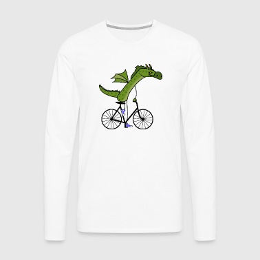 sporty dragon - Men's Premium Longsleeve Shirt