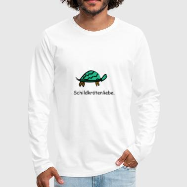 Turtle love turtle tanks love - Men's Premium Longsleeve Shirt