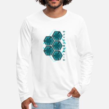 Psy Trance Psychedelic - Men's Premium Longsleeve Shirt
