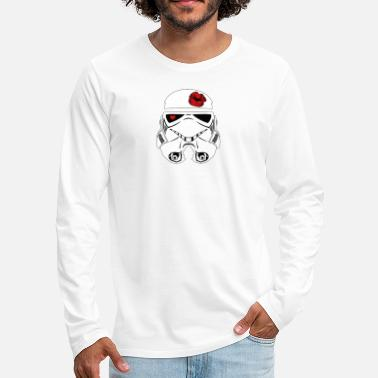 Han Solo Stromtrooper in LOVE - Smiling Troopa - Men's Premium Longsleeve Shirt