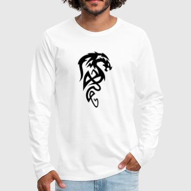 Tribal Dragon Tribal dragon - Men's Premium Longsleeve Shirt