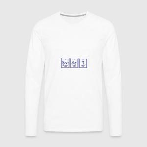Camiseta tabla peridica sm ar t smart spreadshirt camiseta de manga larga premium hombre urtaz Image collections