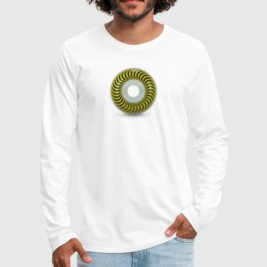 Wheel Wheel - Men's Premium Longsleeve Shirt