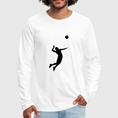 Volleyball, Volleyball Player - Men's Premium Longsleeve Shirt