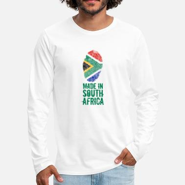 South Made In South Africa / South Africa - Men's Premium Longsleeve Shirt