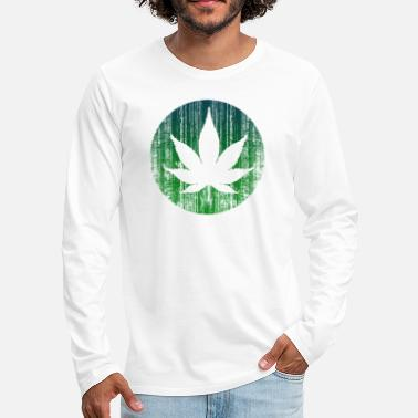 Demo love weed - Men's Premium Longsleeve Shirt