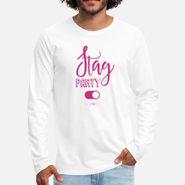 Stag Party Stag party - Men's Premium Longsleeve Shirt